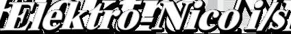 Elektro Nico I/S Logo